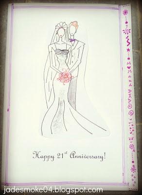 Anniversary Card by Jadirah Sarmad (jadesmoke04.blogspot.com)