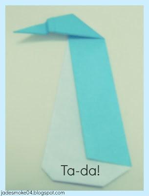 DIY origami penguin READY (jadesmoke04.blogspot.com)