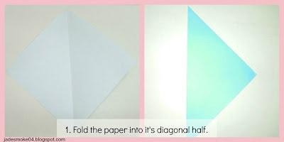 DIY origami penguin step 1 (jadesmoke04.blogspot.com)