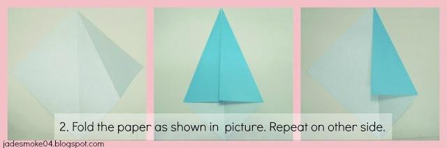 DIY origami penguin step 2 (jadesmoke04.blogspot.com)