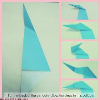 DIY origami penguin step 4 (jadesmoke04.blogspot.com)