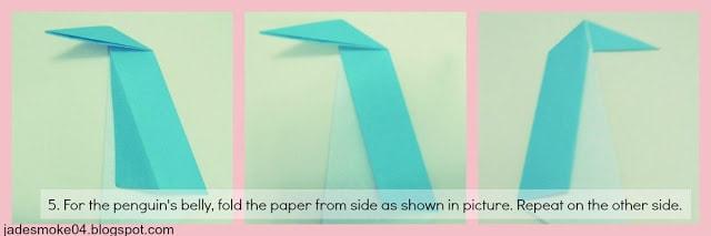 DIY origami penguin step 5 (jadesmoke04.blogspot.com)