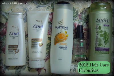 2012 Hair Care Favourites!