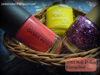 bombshell, glamorous face yellow, m.c sparkling nail lacquer