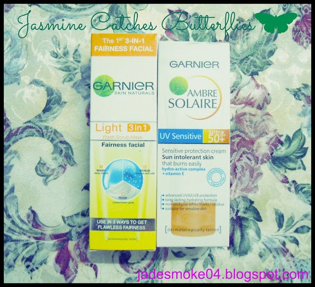 Garnier Light 3 in 1 & Ambre Solaire