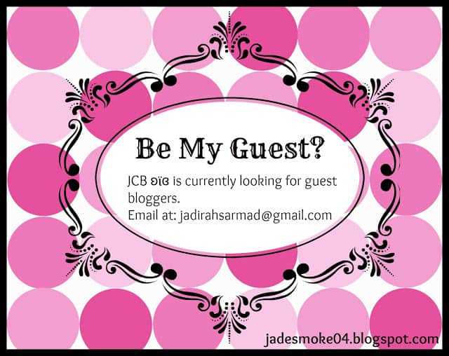 Be My Guest? Guest Post. Guest Bloggers.