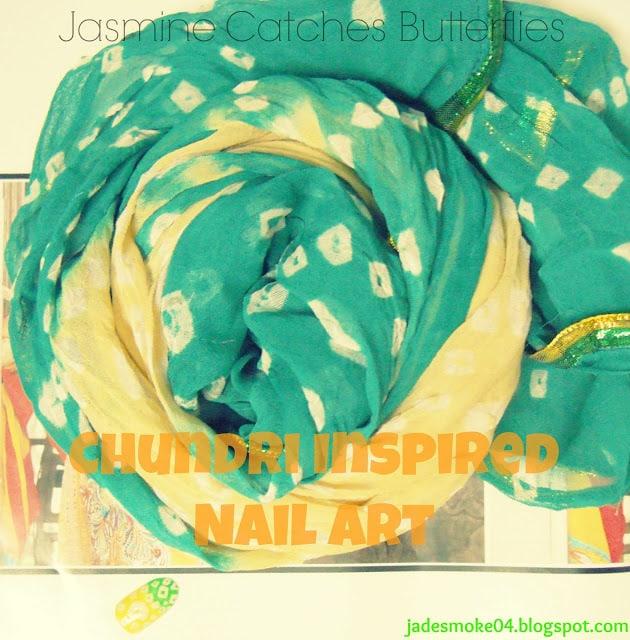 Saturday Nail Tutorial: Chundri Inspired Nail Art