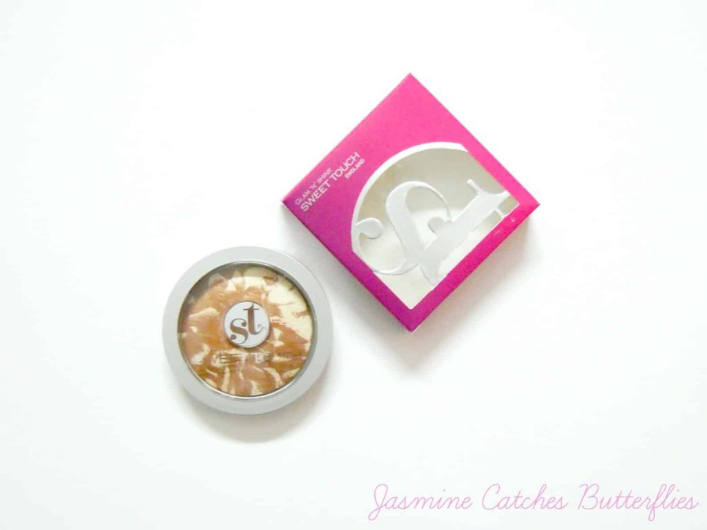 Sweet Touch England Glam 'N' Shine - 501 Bronzing Natural Review and Swatches
