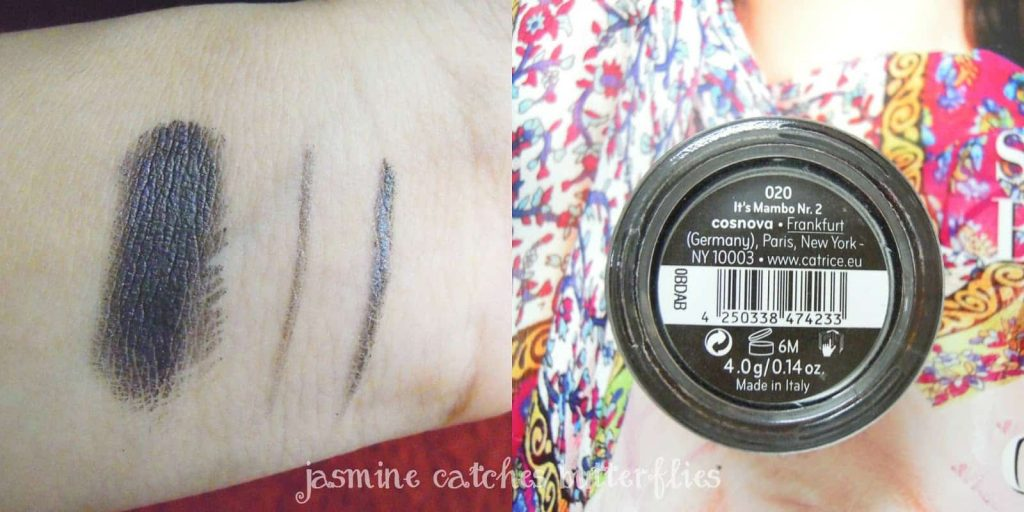 Catrice Gel Eye Liner 020 It's Mambo Nr.2 | Review and Swatches