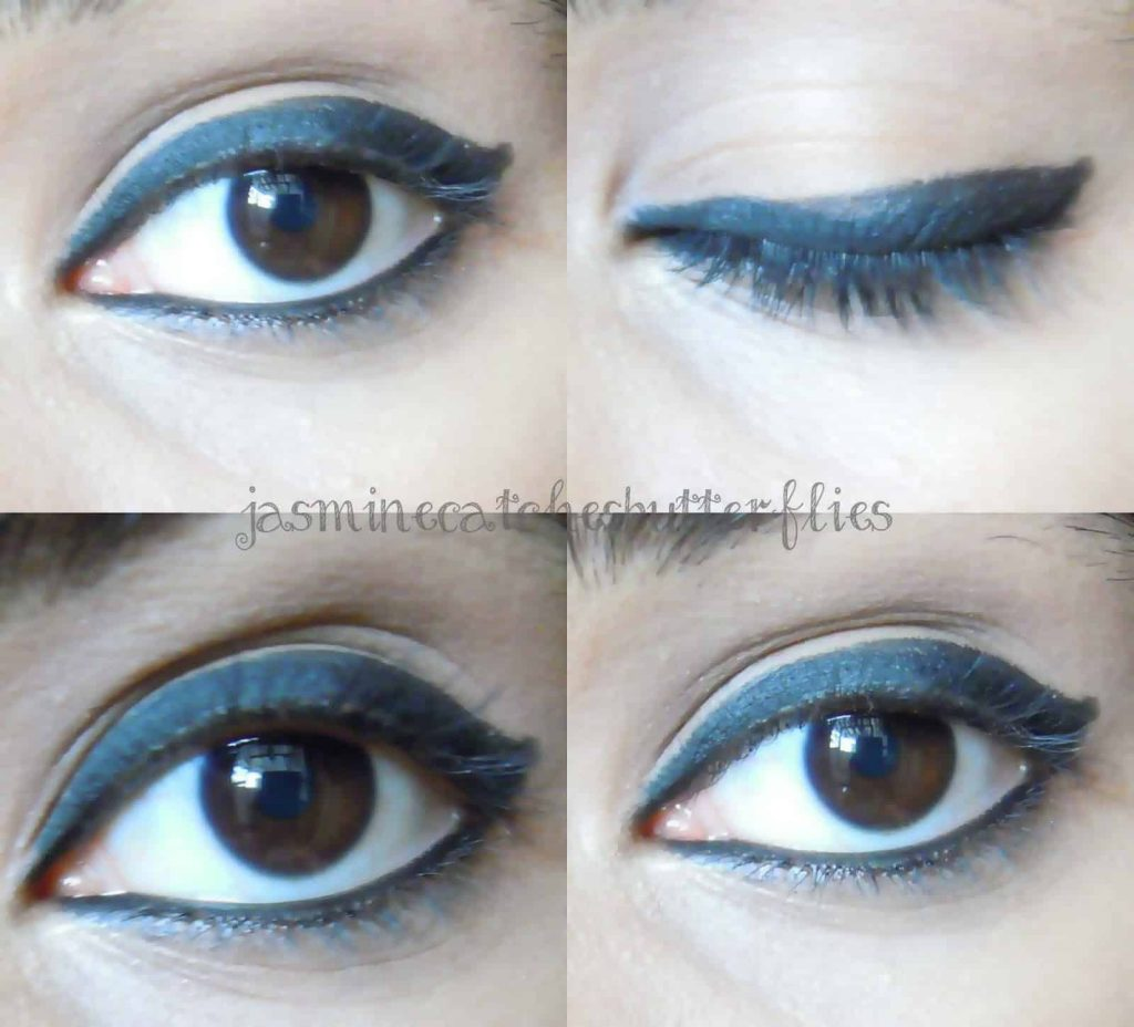 Color Studio Kohl Addict Black Kajal Review and Swatches