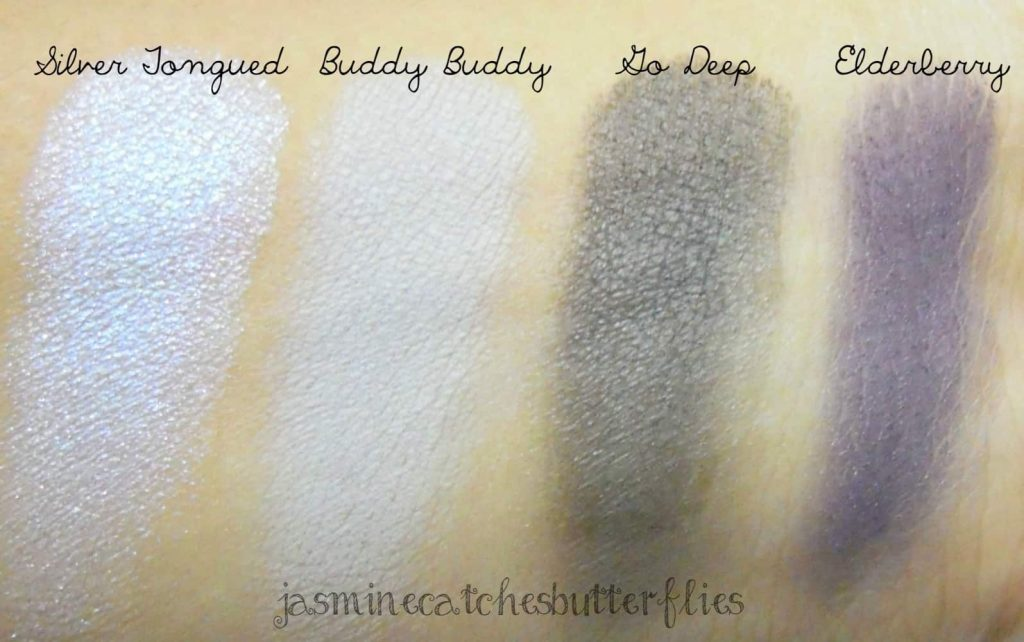 Sigma Fall Softly Eye Shadows