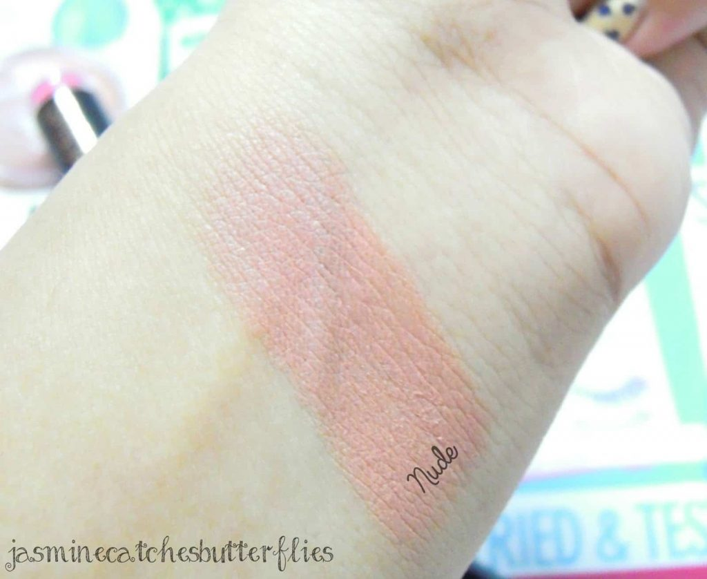 Makeup Revolution Matte Lipsticks Nude Review and Swatches