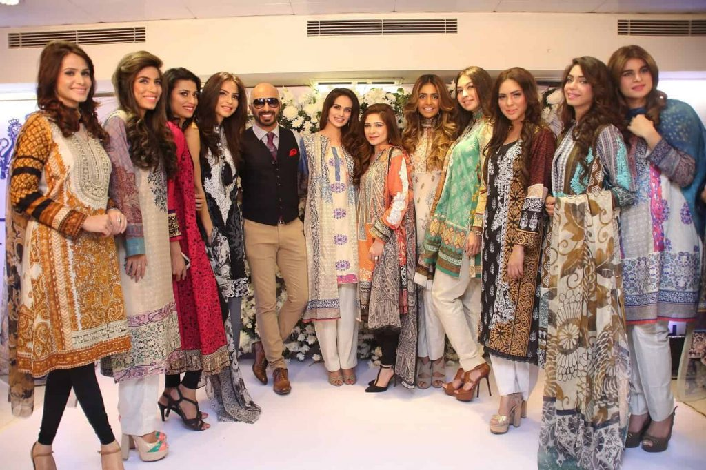 Launch of HSY and Ittehad Lawn