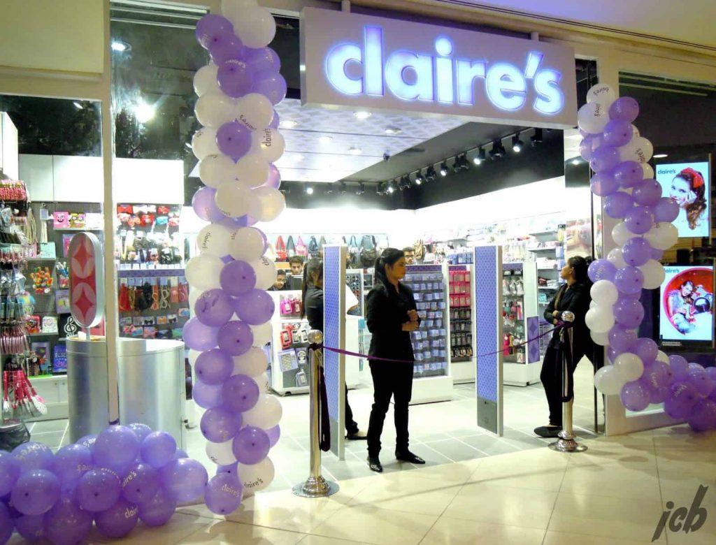 Claire's Launch in Karachi
