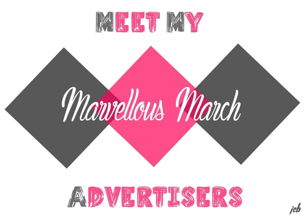 Meet My Marvellous March Advertisers