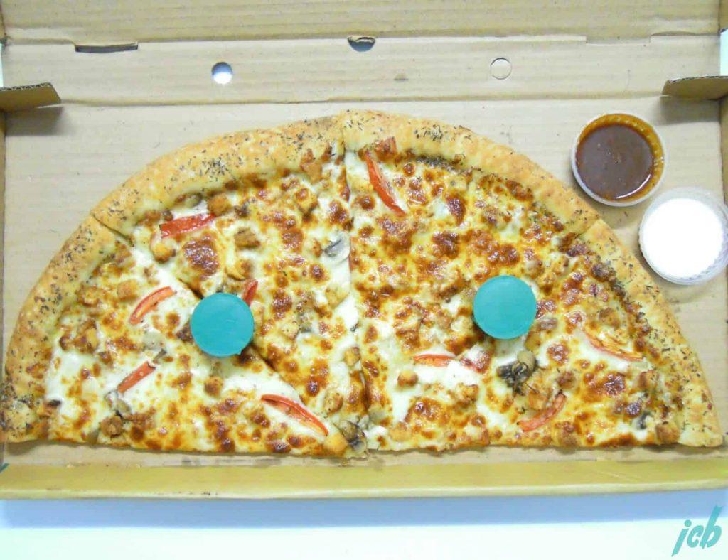 Broadway West Side Garlic Chicken Pizza