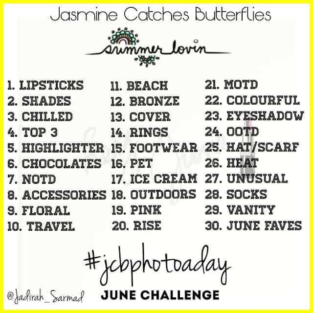 Photo A Day on Instagram Summer Challenge!