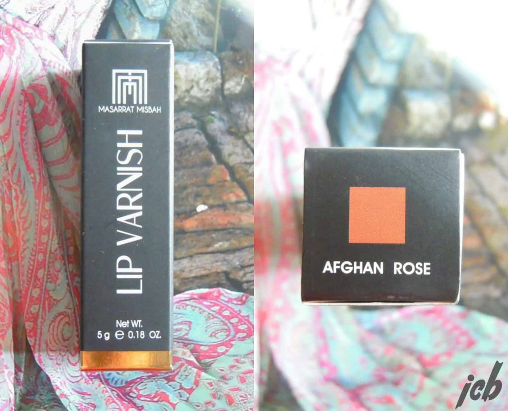 Masarrat Misbah Afghan Rose Lip Varnish