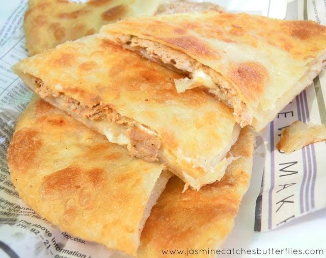 Chicken Cheese Paratha