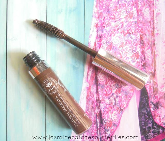 PHB Natural Mascara in Brown Review