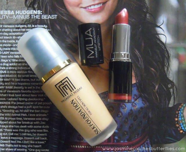 Masarrat Misbah Silk Foundation and MUA Lipstick