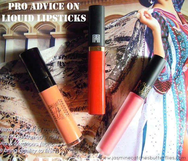 Pro Advice for Liquid Lipsticks