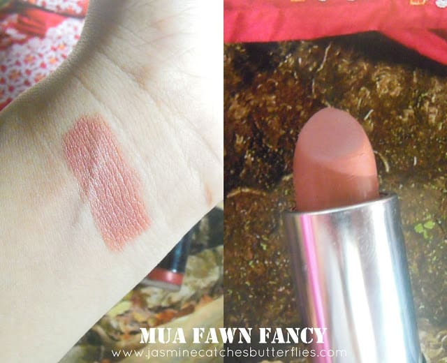 MUA Fawn Fancy Review
