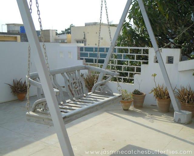 Rooftop Terrace Swing