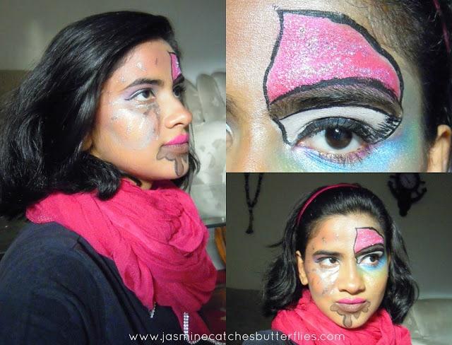 7 Deadly Sins Halloween Makeup on Gluttony