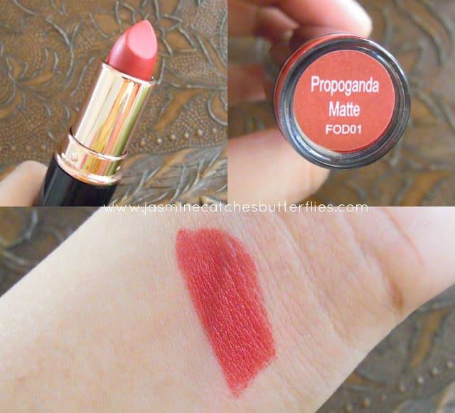 Makeup Revolution Propoganda Matte Iconic Pro Lipstick