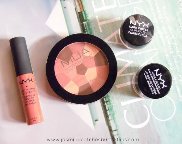 NYX and MUA Products