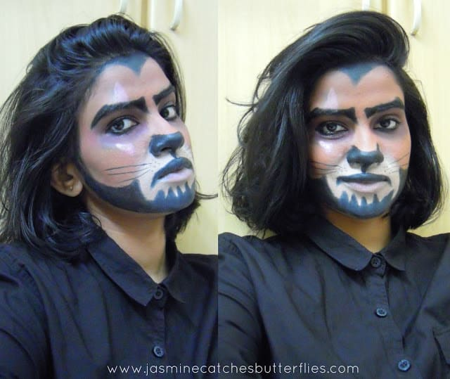 Lion King Scar Makeup