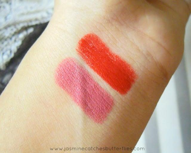 Sweet Touch Matte Lipsticks in 773 Matte and 723 Matte