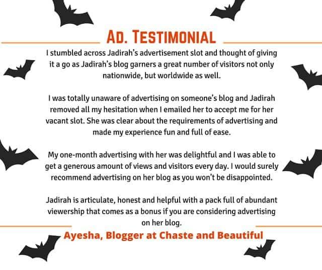 Blog Ad Testimonial