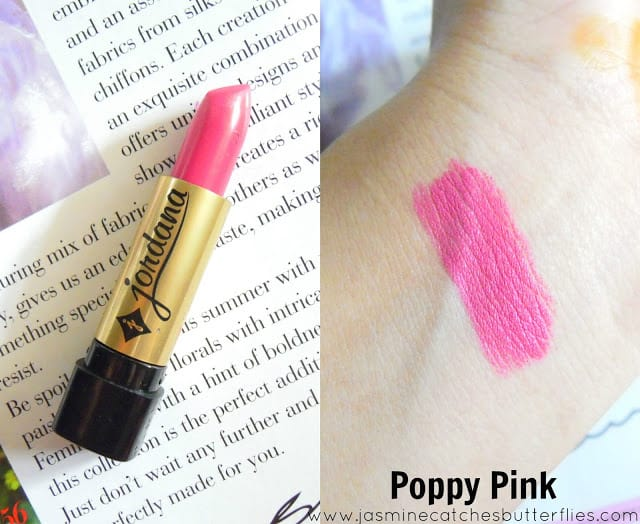 Jordana Poppy Pink Lipstick