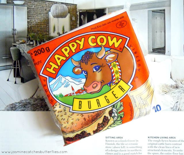 Happy Cow Burger Cheese