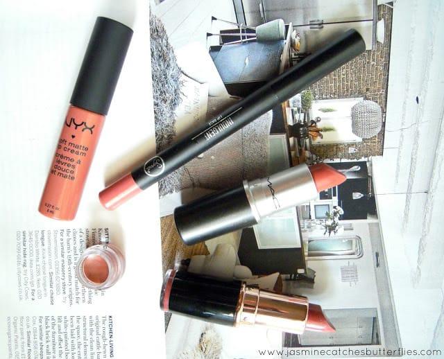 Dusty Rose Lipsticks