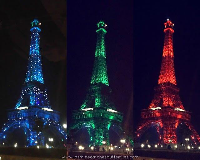 Eiffel Tower in Bahria Town
