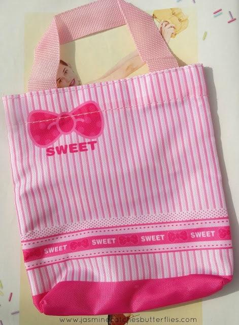 Mini Pink Ribbon Handbag