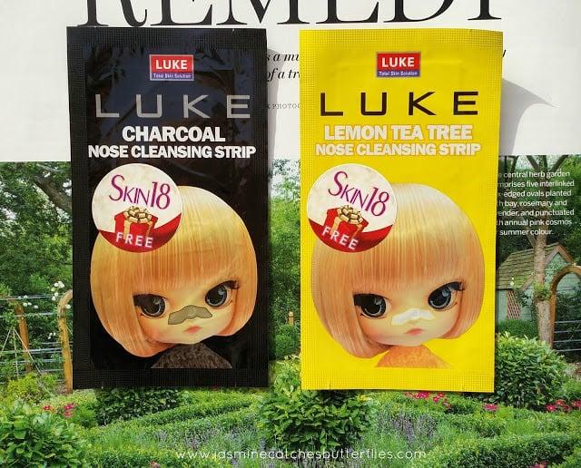 4. Luke Charcoal and Lemon Tea Tree Nose Cleansing Strip