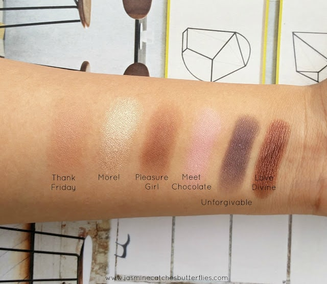 Makeup Revolution I Heart Chocolate Palette Review and Swatches