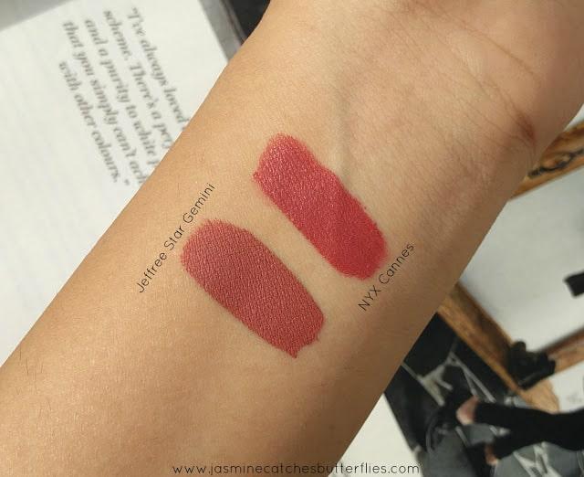 Jeffree Star Velour Liquid Lipstick in Gemini Dupe