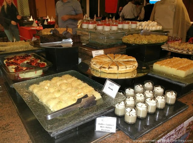 Desserts at Turkish Food Festival at Asia Live, Avari Towers