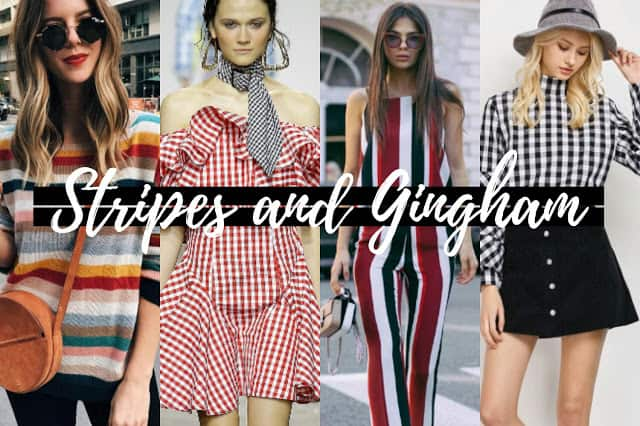 The Comeback of Stripes And Gingham
