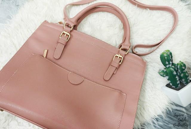 Leesun London Front Pocket Handbag