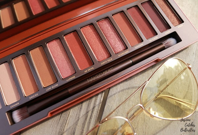 New! Urban Decay Naked Heat Palette- Review and Swatches ⋆