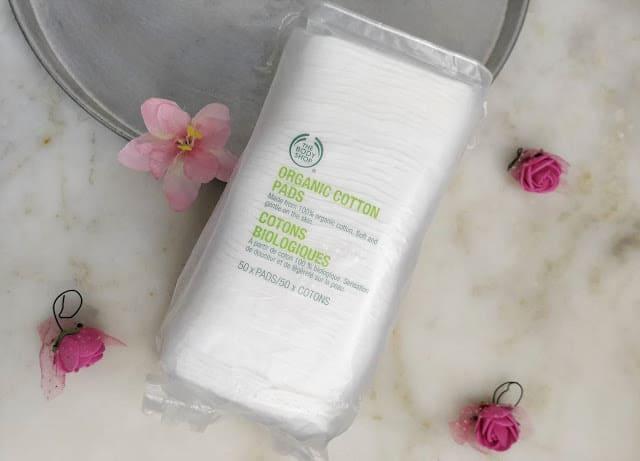 The Body Shop Organic Cotton Pads