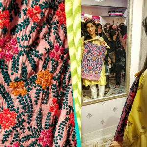 SRM Couture Handmade Fabric in Pakistan